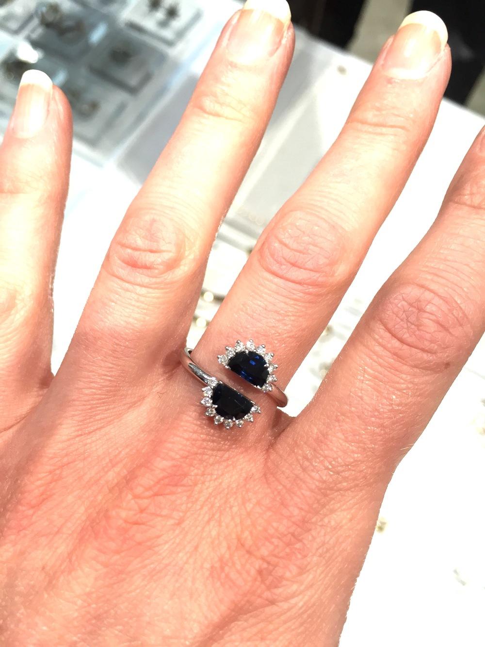 Maison Margiela Pompadour Split Ring