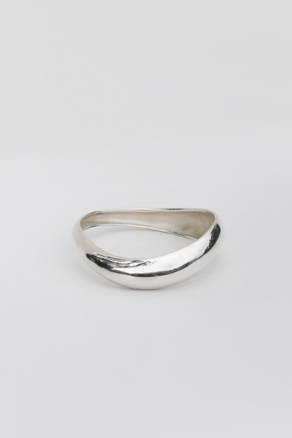 Large Amorphous Bangle