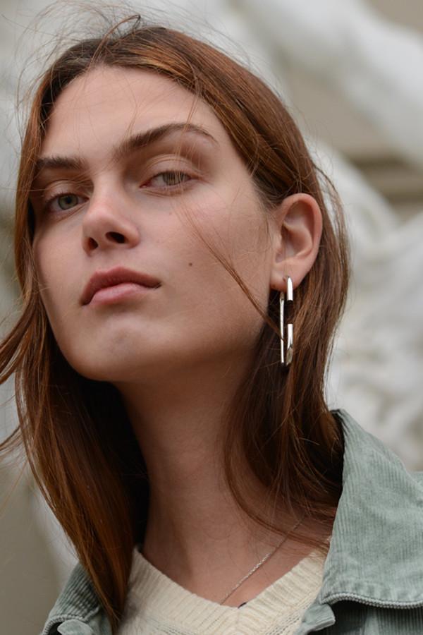 Vertical Earring