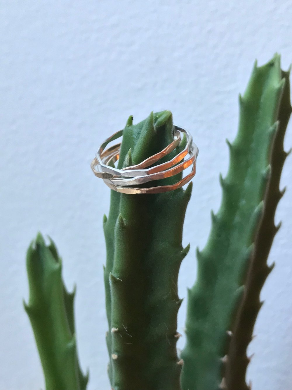 """Stacking rings are super easy to wear and I have so many that I give to friends all the time."""