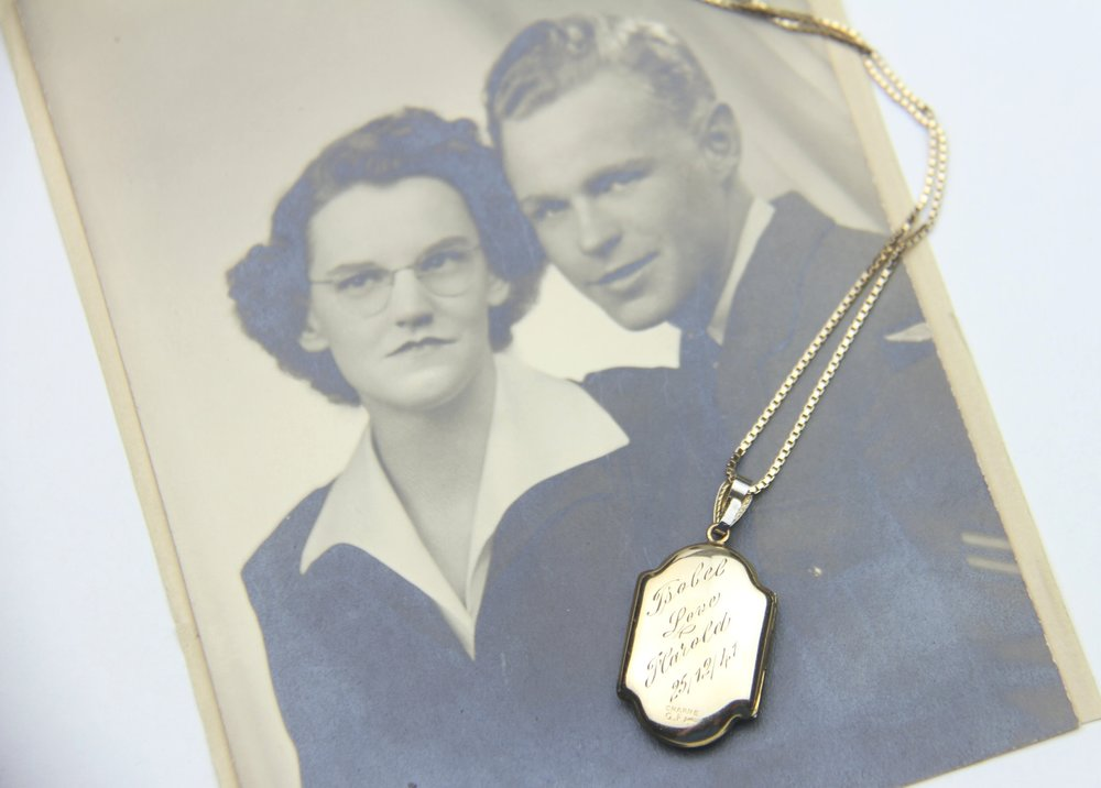 A photo of my maternal grandparents.