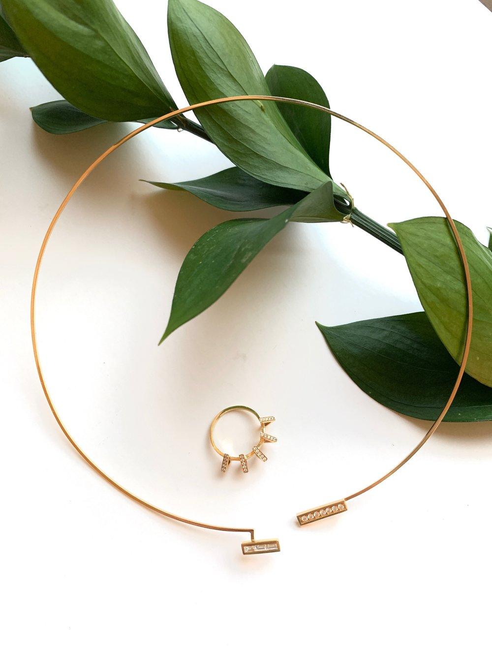 Circuit Diamond Ring