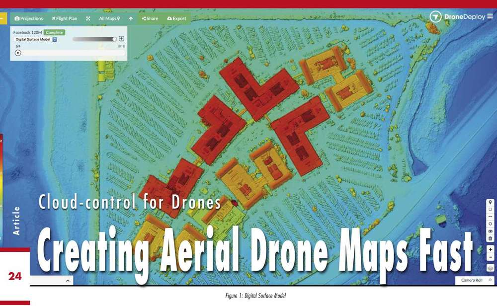 GEOInformatics Magazine interview: Cloud Control for Drones - Creating Aerial Drone Maps Fast