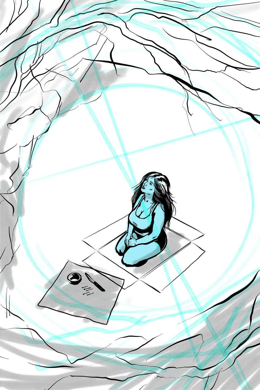 Ritual (Thera, graphic novel in progress) 2017