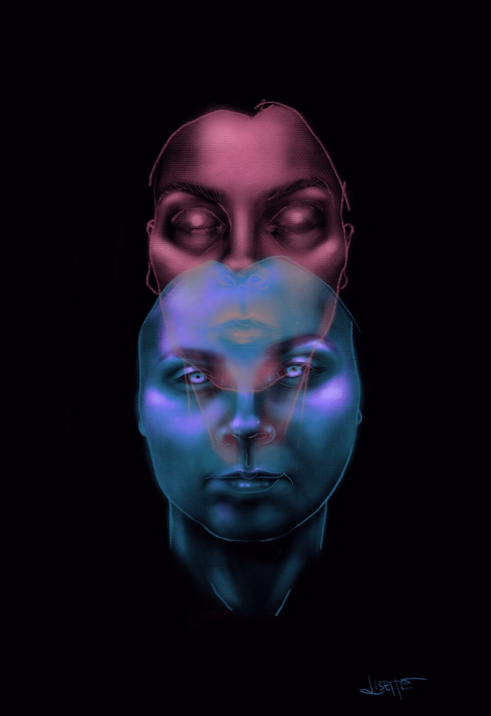 I Promist To Look Directly At You, Digital, 2018