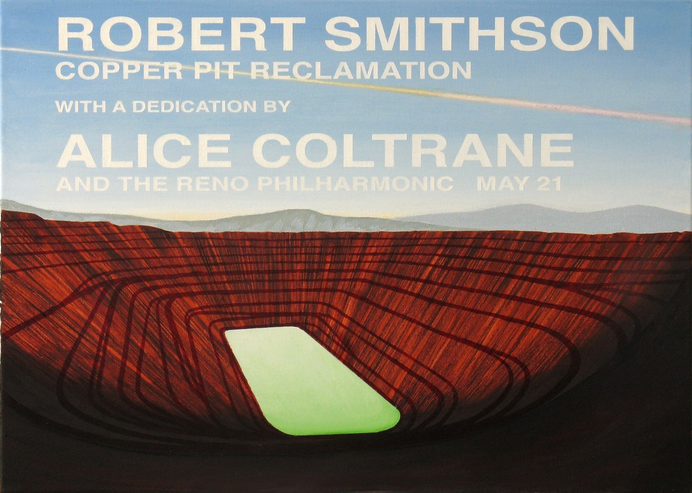 Robert Smithson-Copper Pit Reclamation-1973
