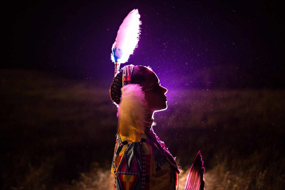 creative-backlit-native-american
