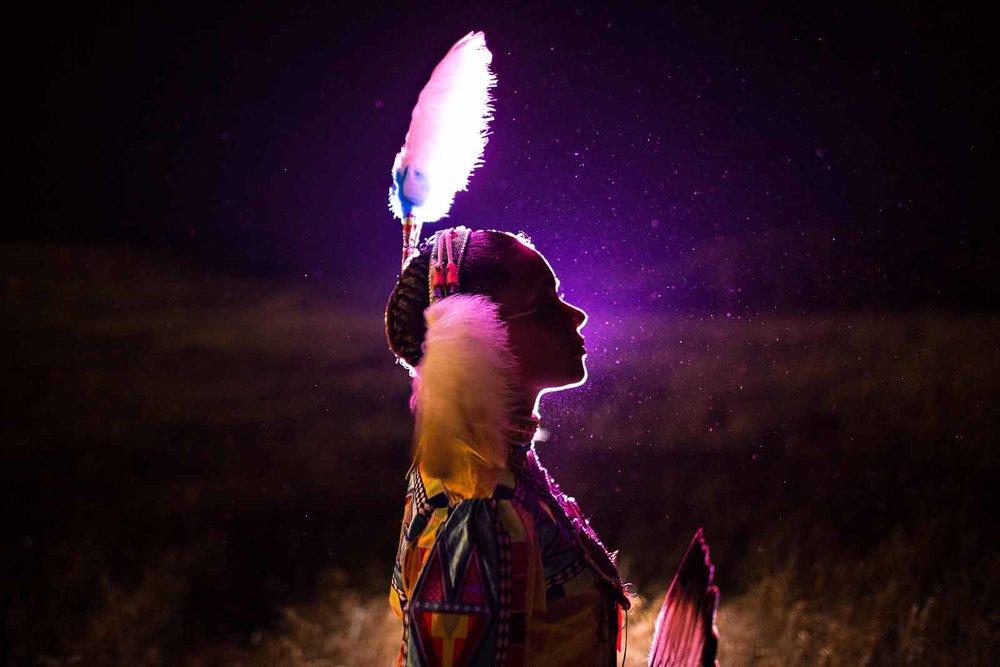 creative-backlit-native-american