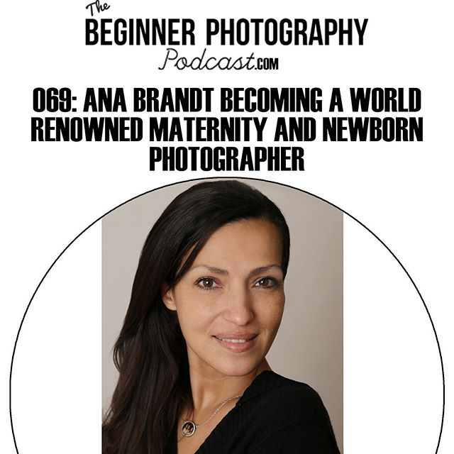 Have you heard this weeks interview with world rebound maternity and newborn photographer @anabrandt download it in your favorite podcast app now!