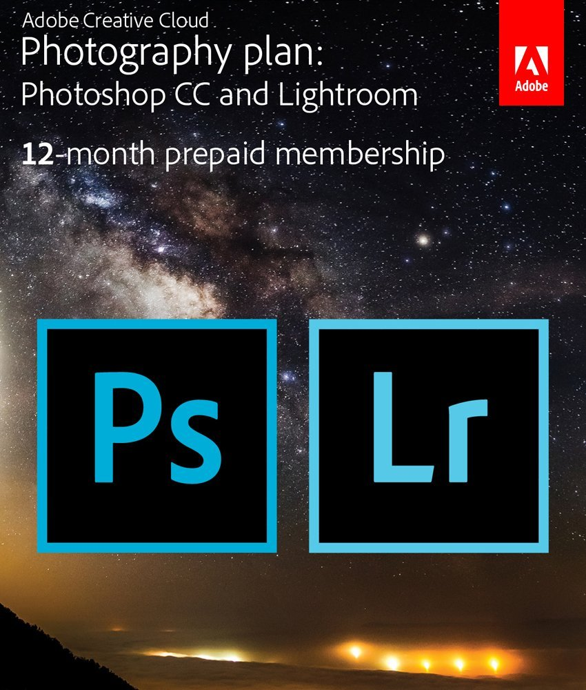 Adobe Photoshop and Lightroom - These are the two programs I use most as a photographer. Being able to organize, catalog, and edit your images in Lightroom is a lifesaver. With Lightroom I am able to come home and edit an entire engagement session in just 20 mins.Click the logo to buy on Amazon!
