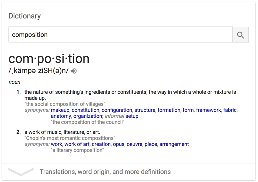 photography-composition-definition