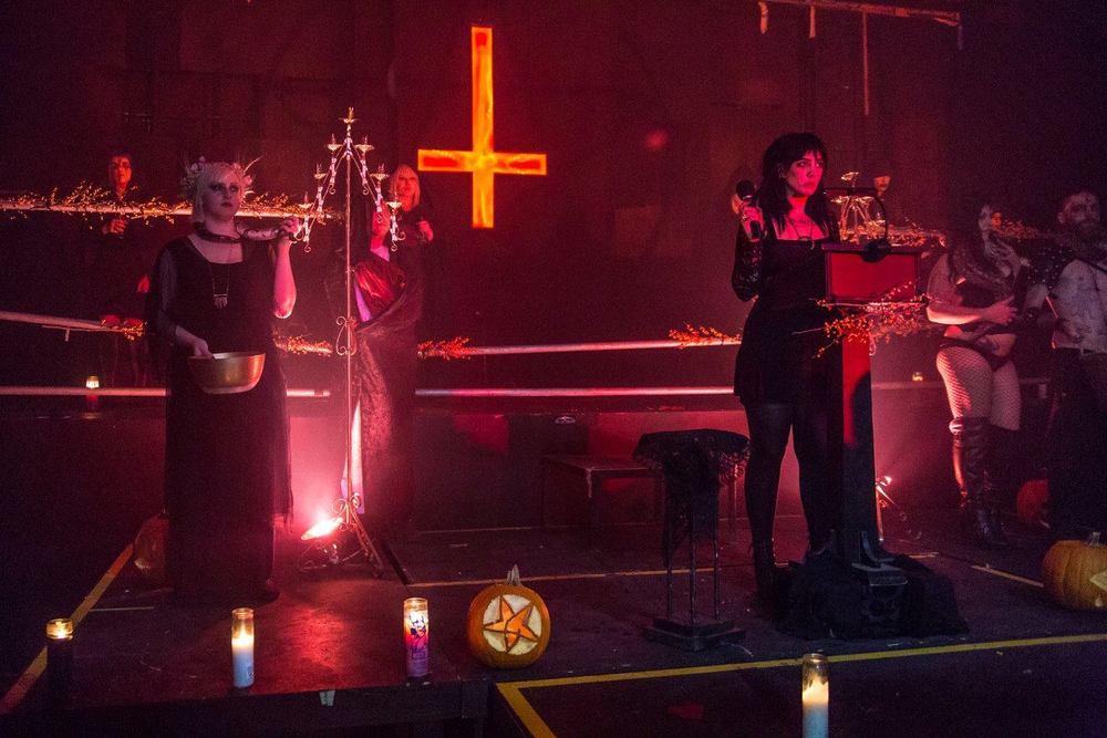 Jex Blackmore Unbaptism Ritual