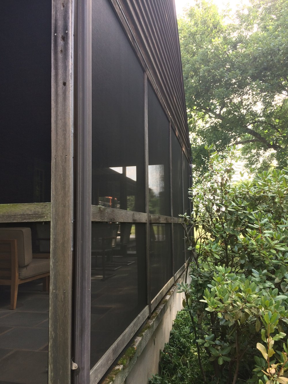 Renue Glass and Screen Repair Cedar Patio Pavilion