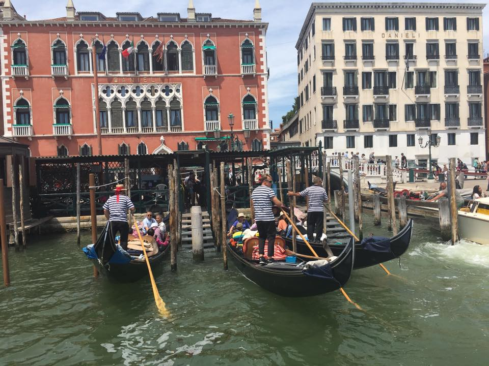 Enjoy the sights of the Grand Canal as you travel to the Biennale venues at the end of the line.
