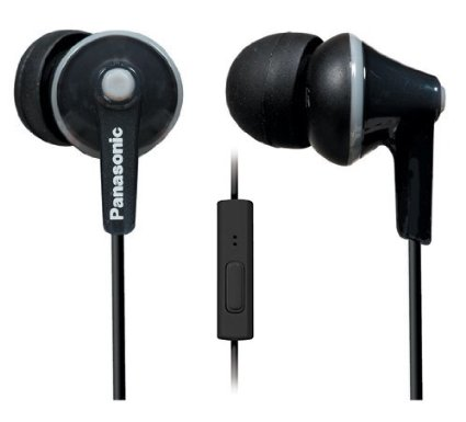Basic earbuds with microphone are adequate, & good for travel!