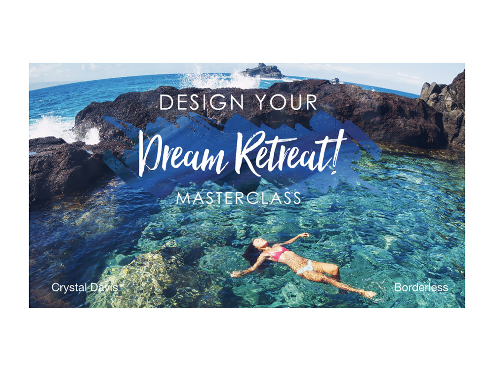 Design Your Dream Retreat Workbook