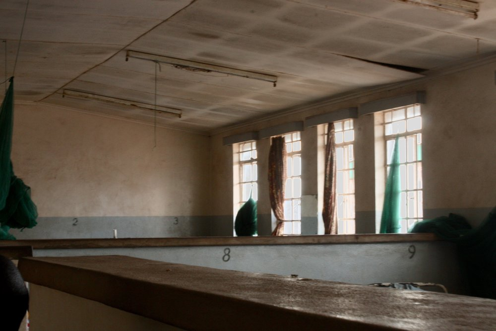 Women's ward at Kabudula Hospital, July 2017