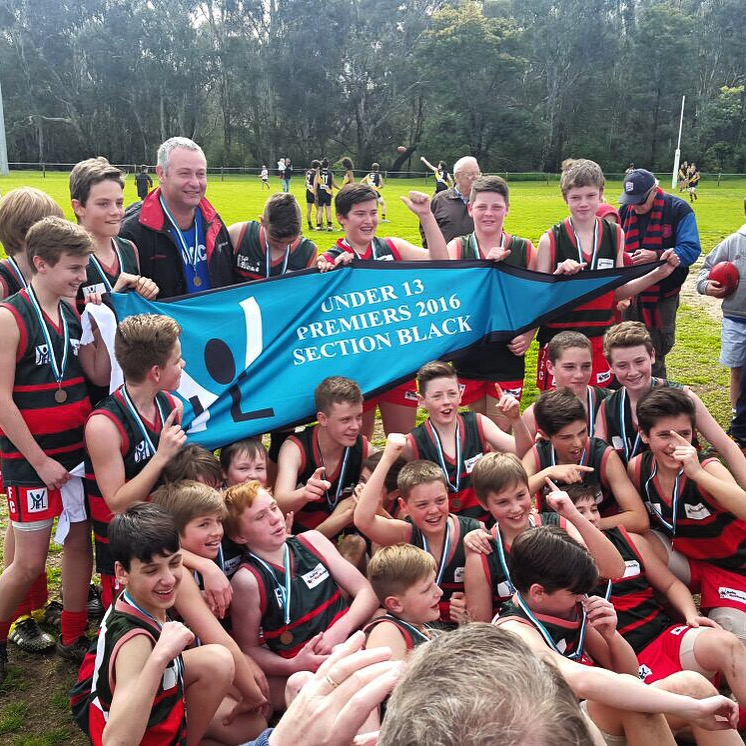 U13 Boys Black  Coach: Tony Smith Under 13 Black Division Premiers
