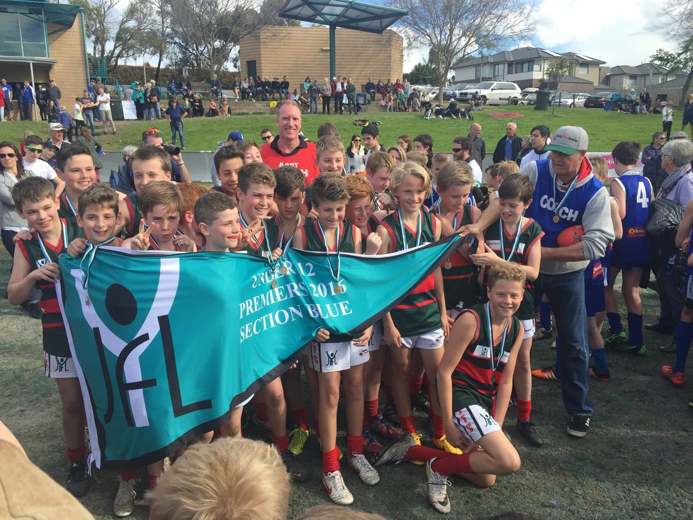 U12 Boys Black  Coach: Greg Dixon Under 12 Blue Division Premiers