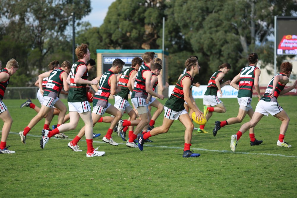 Deliver Group's Colts Red take to the ground in Round 1