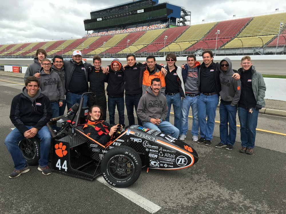 CUFSAE Team 2016-17 and Tiger18