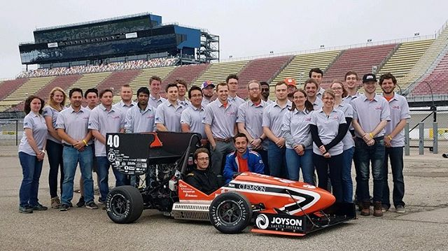 Officially 19th overall at FSAE Michigan 2019! This competition has been a rollercoaster but we got it together when it counted. Thank you to all our sponsors, alumni, and supporters because without you this wouldn't have been possible!! Go Tigers!! . . . #fsae #formulastudent #motorsport #competition #clemson #tigers #racing #speed #allin #engineering #40 #natty #champs