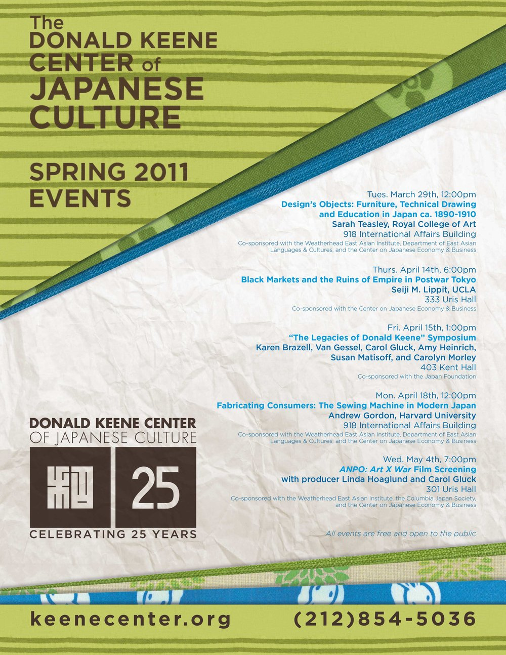 Spring Calendar Poster