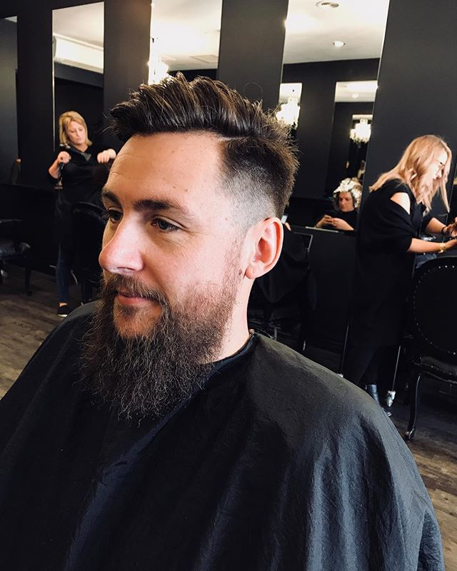 Still have spots left this week for men's haircuts! Short back and sides, fade, or a longer textured look,  book in now and add on the deluxe package  that includes a wash, deluxe head massage and a complimentary beer!!!! Also appointments with with Gemma get 20% off