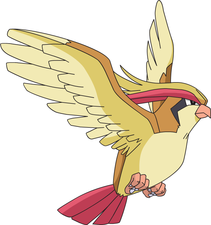 Pidgeot reminded me of a Peregrine Falcon and is the most realistic bird Pokémon