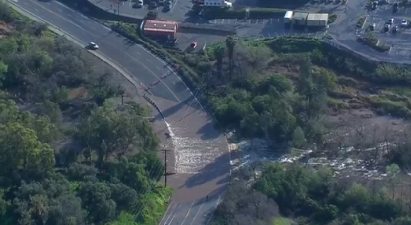 Source: NBC4 San Diego footage showing San Diego River Flooding. http://www.nbcsandiego.com/news/local/Helotourfllooding_San-Diego-414997863.html