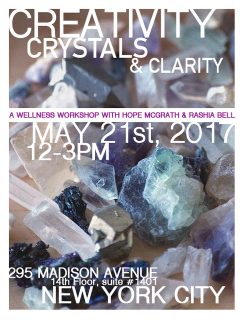 Creativity Crystals & Clarity
