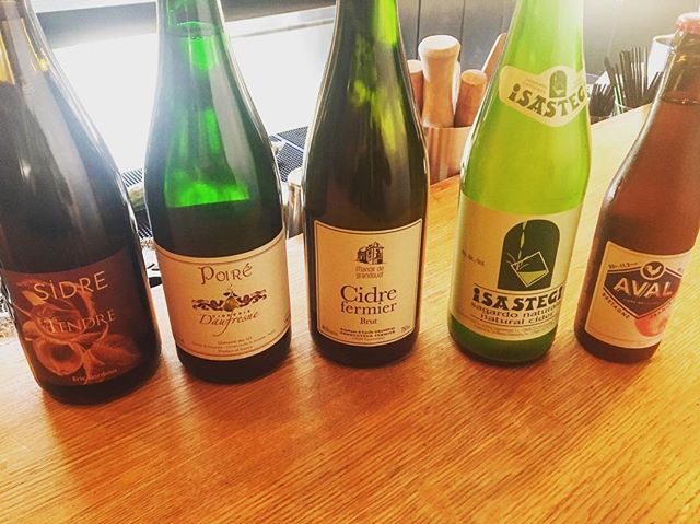 These are just a few bottles from our impressive cider lineup for Nose To Wassail! Join us at noon on Sunday, September 16th for cider and snacks - more info in our bio link
