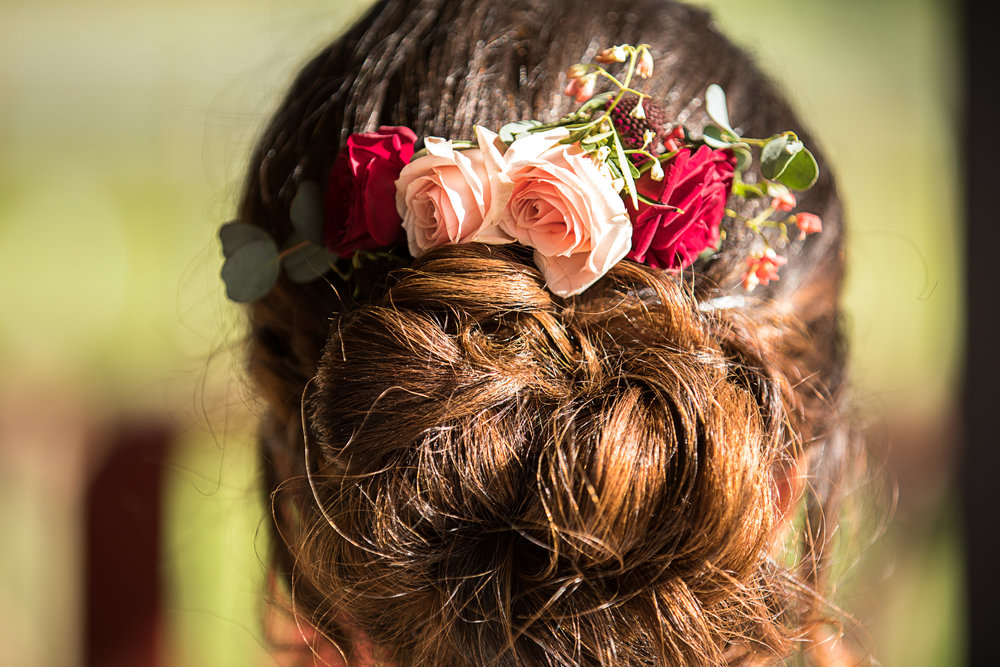 Bridal Hair | Northwest Arkansas Wedding Photographer