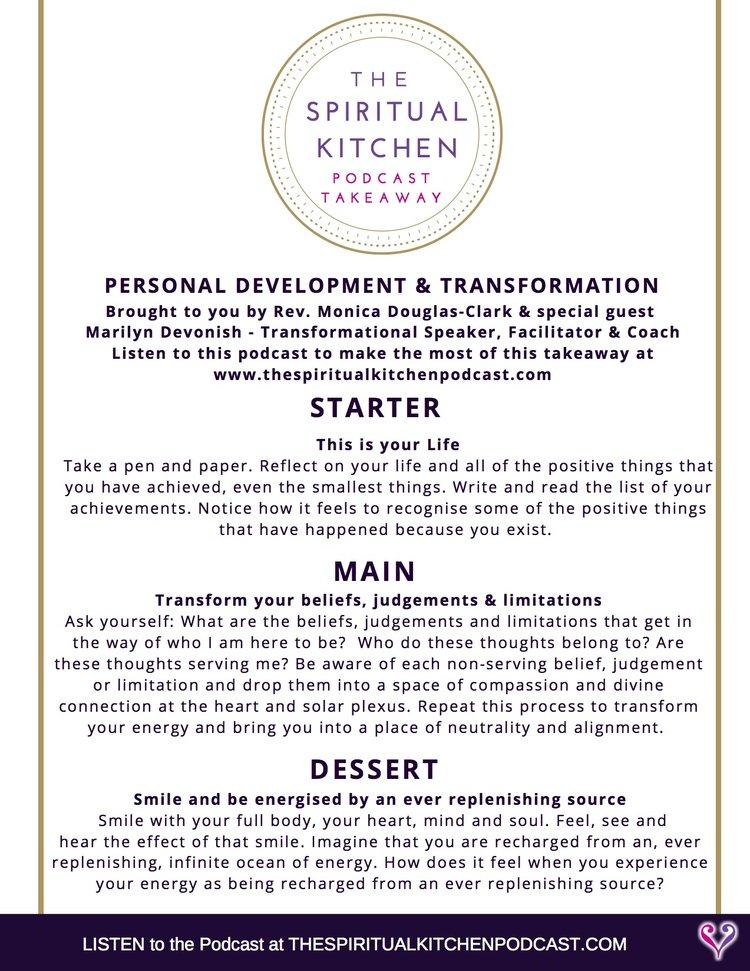 Spiritual Kitchen Podcast — Rebel Rev. Monica and The Nurturing Journey