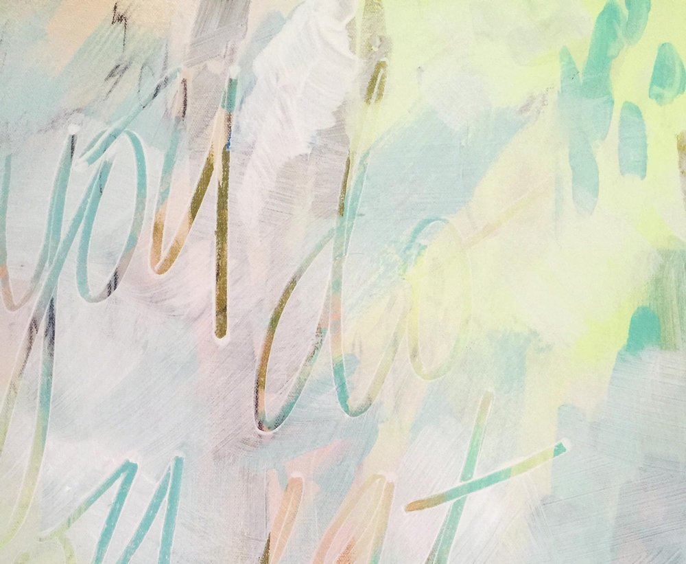 scripturepaintings  - I'm honored to offer custom abstract artwork incorporating cherished passages. These paintings are uniquely personal in their message and palette to reflect you, your family, and what matters most.