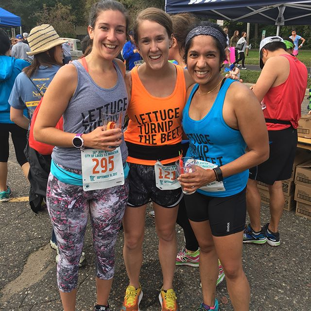 Ran my very first half marathon with these two incredible ladies in Minneapolis!! Getting to run this race with them is something I will cherish forever ❤️🙌🏻