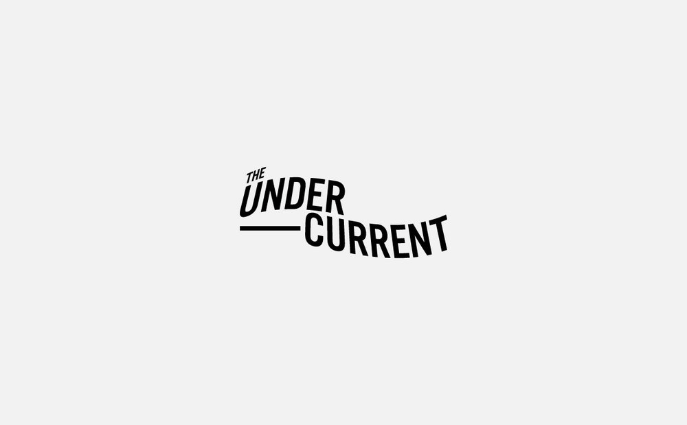 The Undercurrent typographic logo