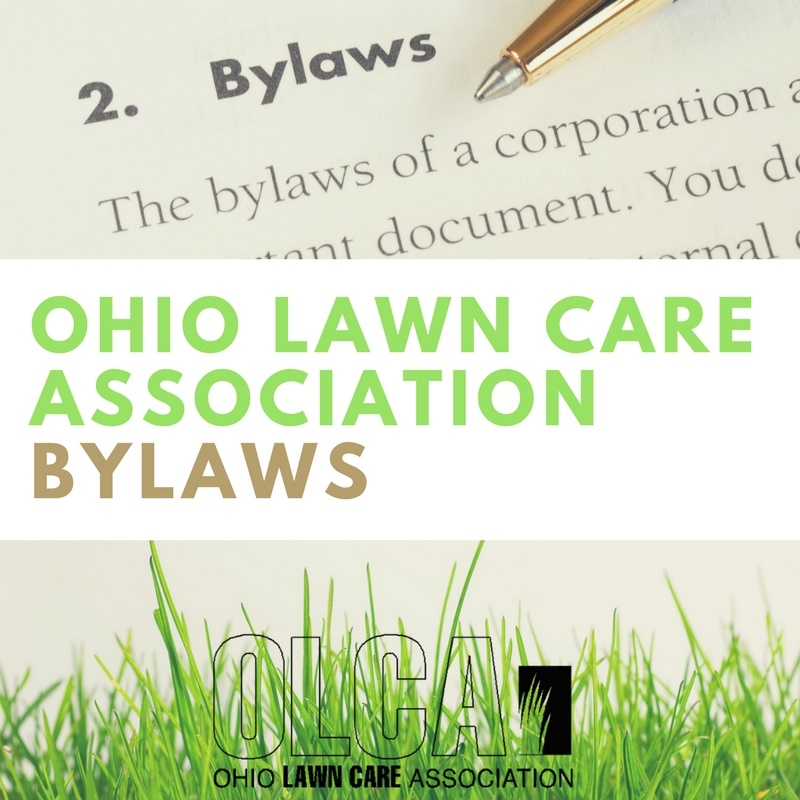 THe Ohio Lawn Care Association Bylaws
