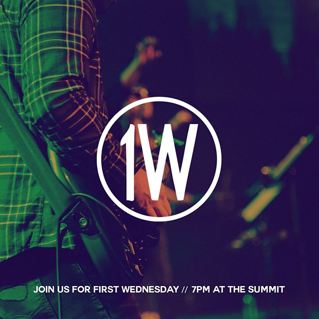 "Join us for First Wednesday, our once a month all church prayer gathering. ""This is the confidence we have in approaching God: that if we ask anything according to his will, he hears us."" 1 John 5:14  #1W #FirstWednesday #canyonhills"