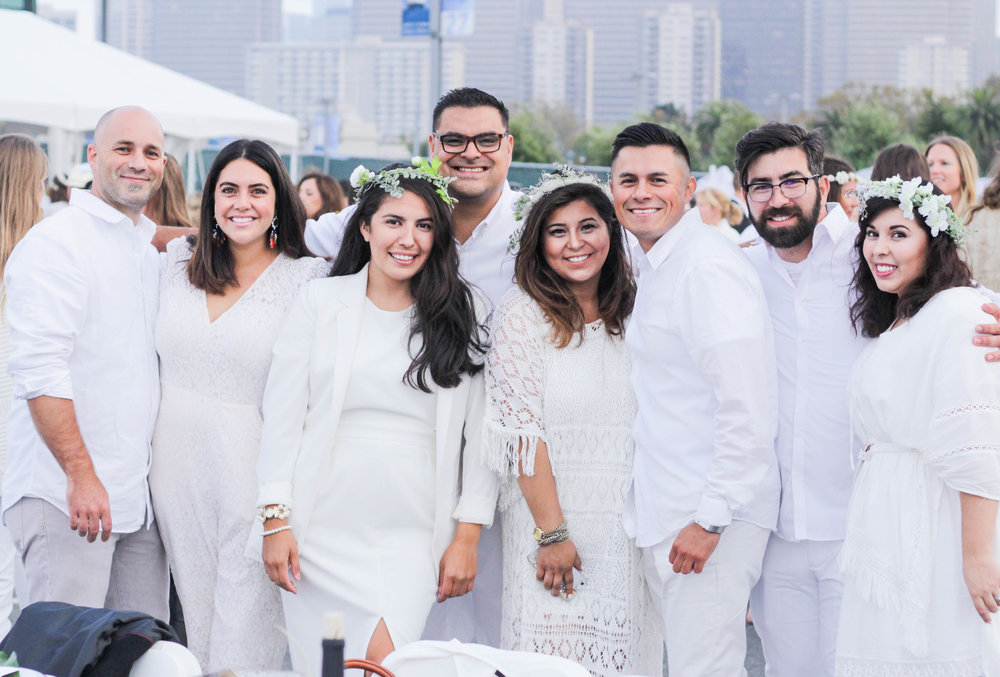 Le Diner a San Francisco | pop up all white party - Handmade Events