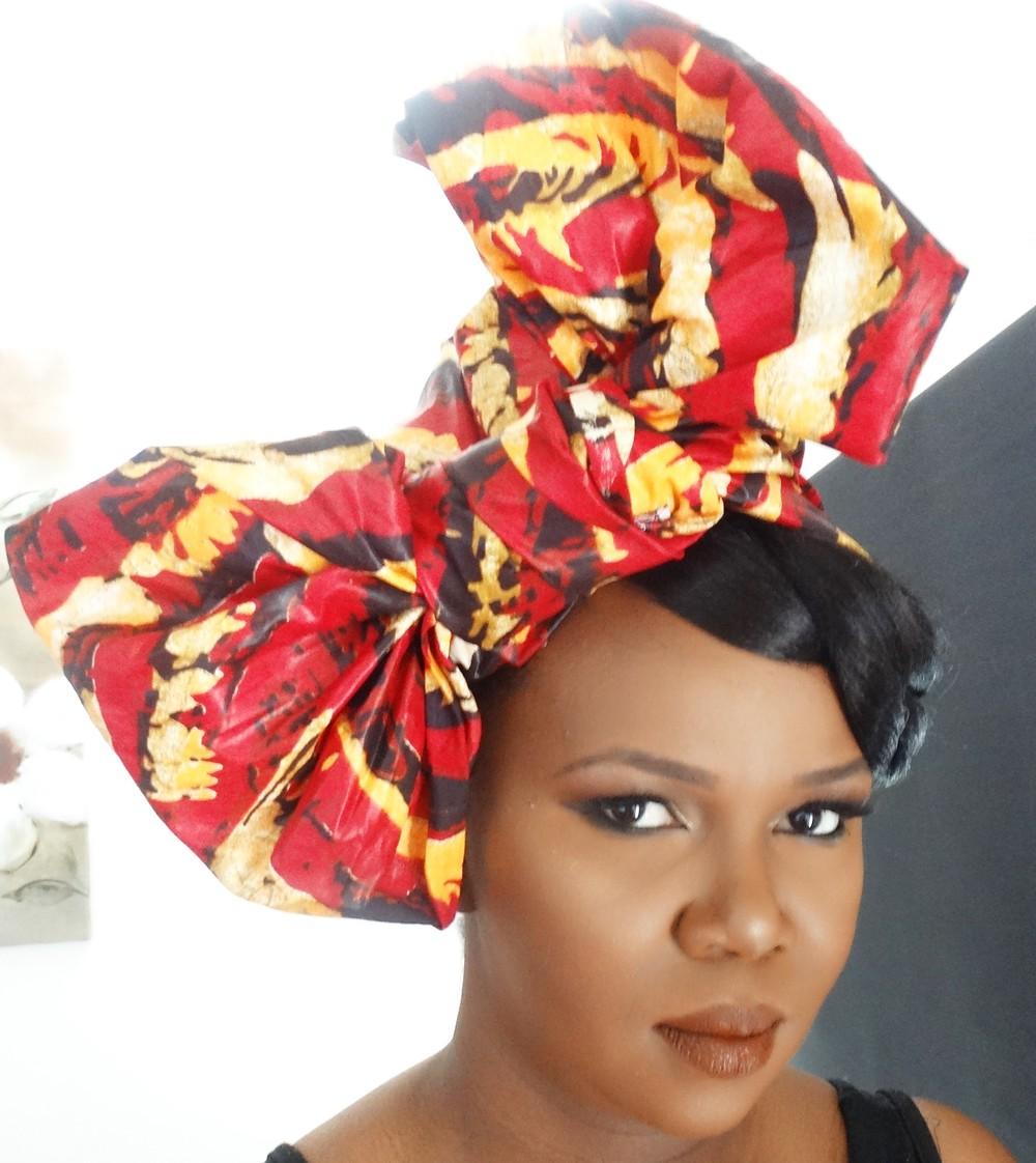 Kitenge head wrap