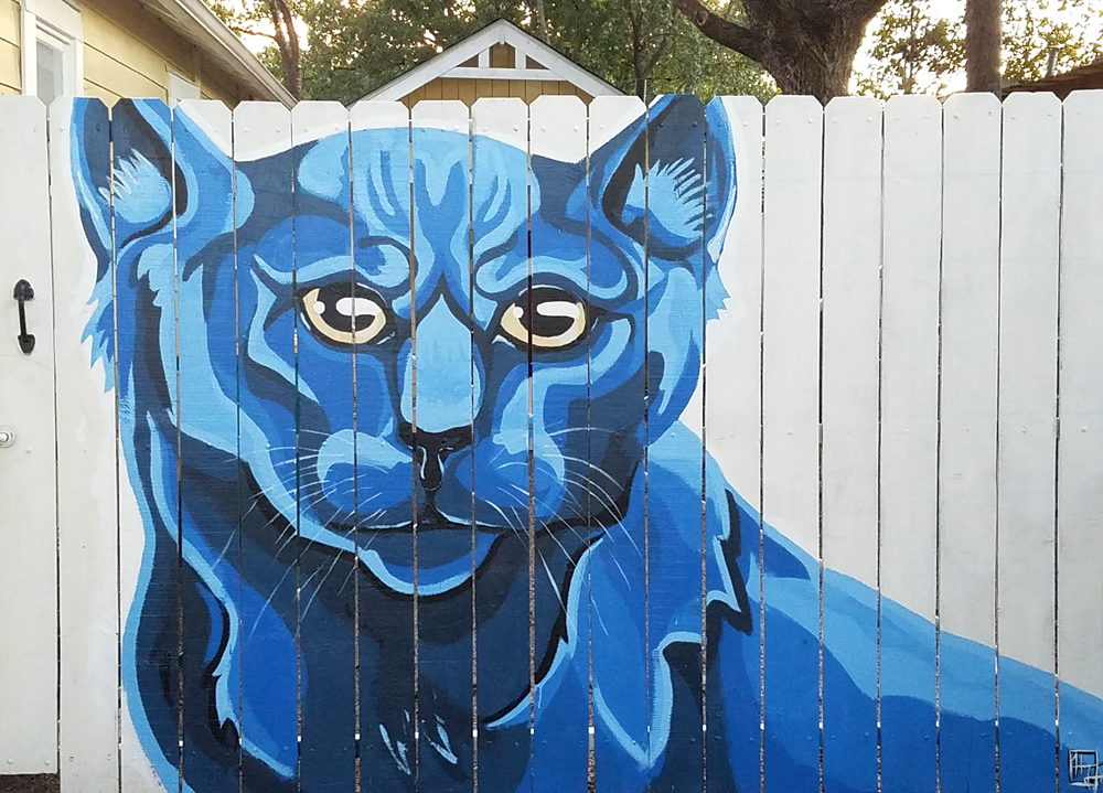 Sly Cat Mural