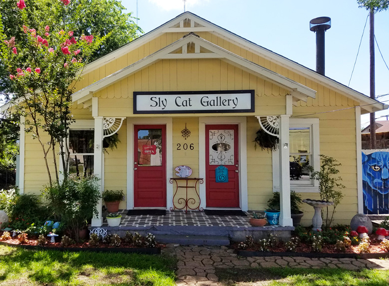 Sly Cat Gallery - Custom Framing, Original Artwork, Unique Jewelry & Gifts