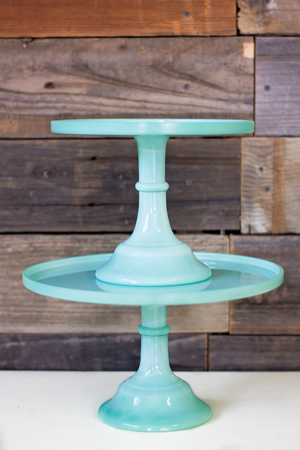 Faux Jade Stands $15 & $19