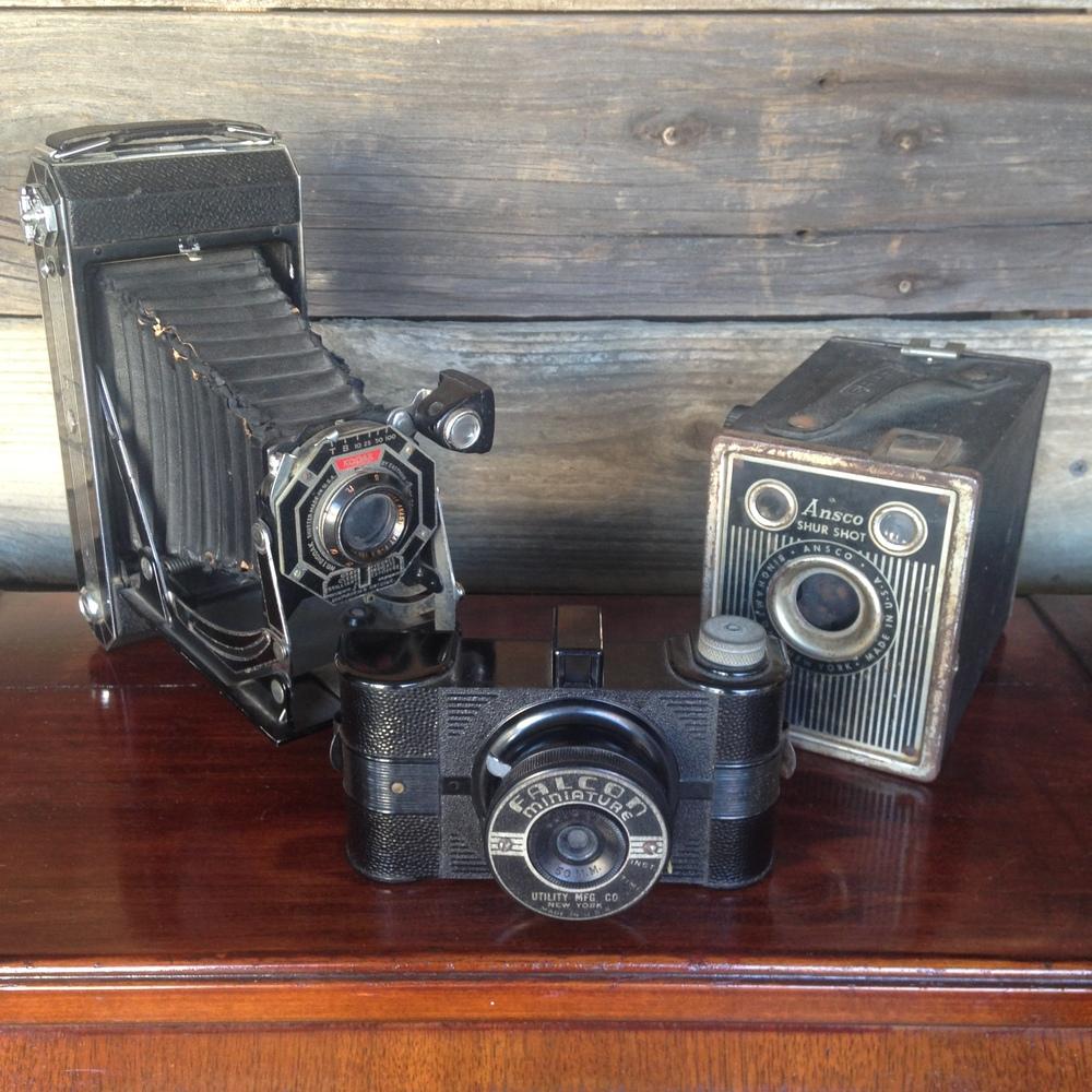 Vintage Camera $12-$20ea