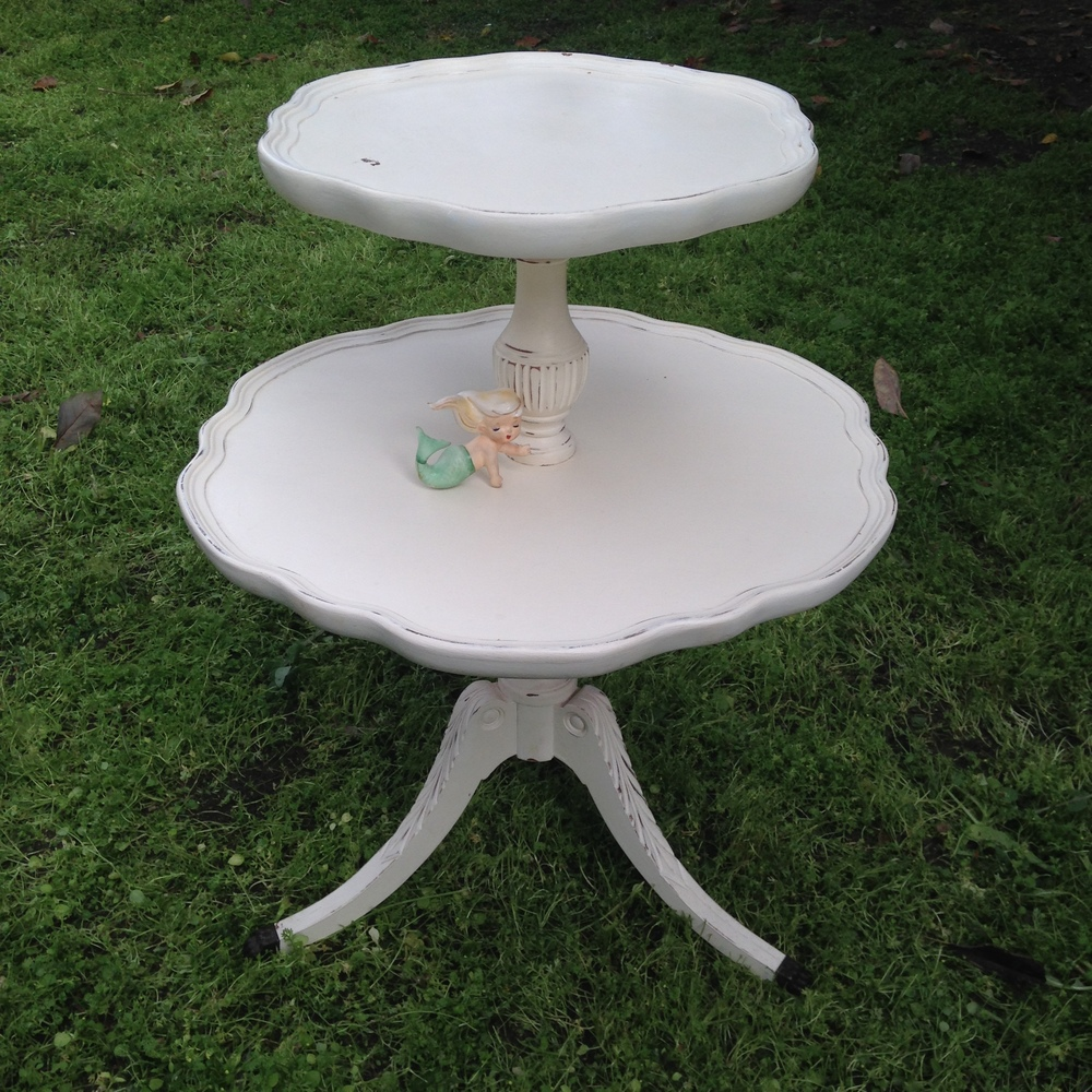 2 Tiered Table $20