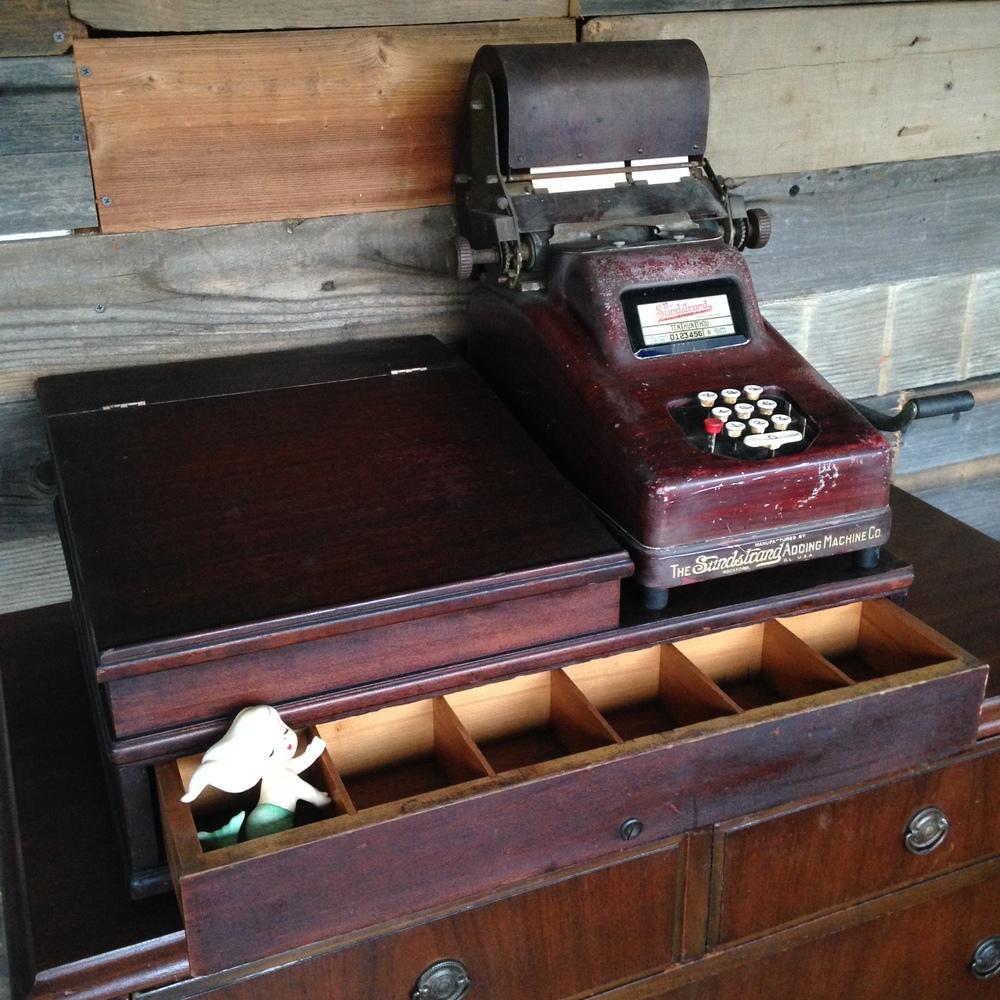 Vintage Cash Register $24