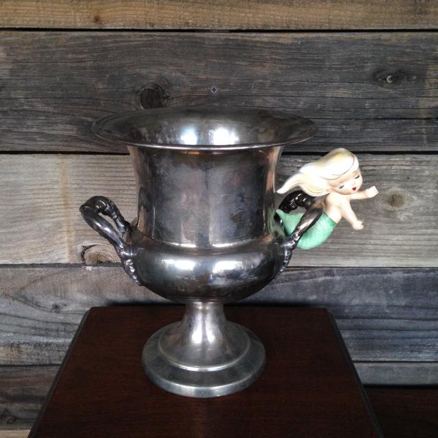 Silver Urn $8