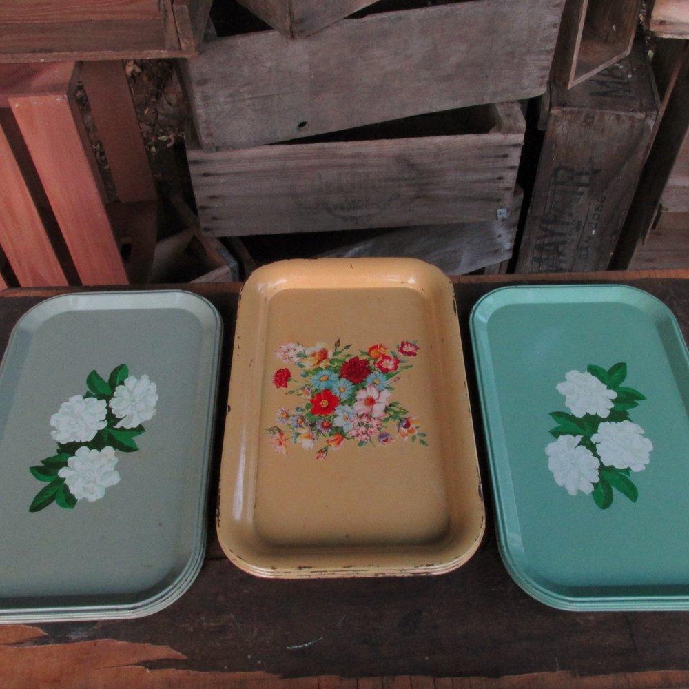 Vintage Trays $1ea
