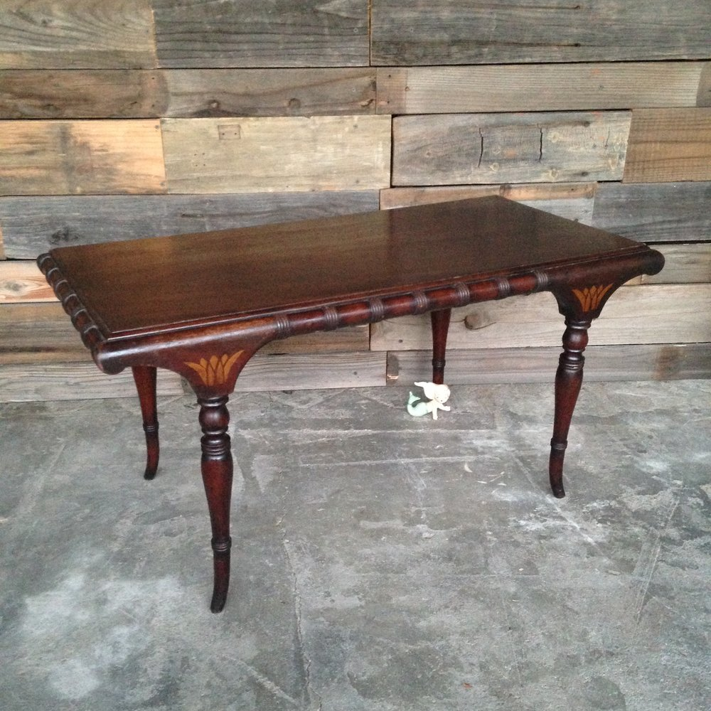 Mahogany Coffee Table $15